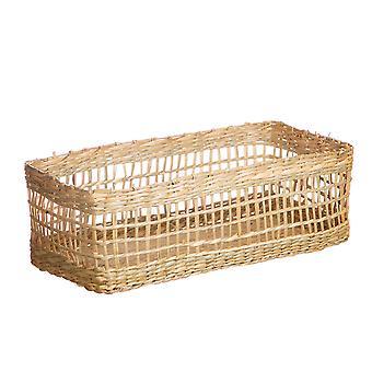Sass & Belle Seagrass Rectangular Basket