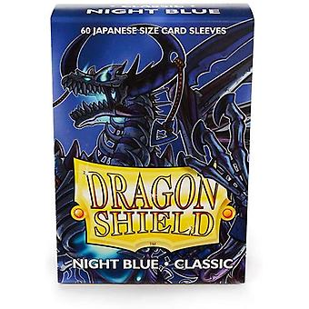 Dragon Shield Japanese Size Classic night Blue Card Sleeves - 60 Sleeves