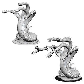 Pathfinder battles Deep Skär omålade miniatyrer (W11) Hydra