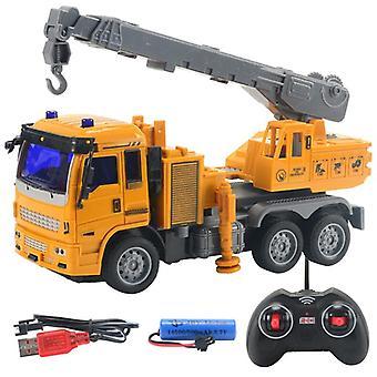 Rc trucks mini remote control bulldozer 1:30 4ch plastic engineering car dump crane excavator electric vehicle toys