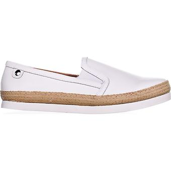 Carlos by Carlos Santana Womens Park Leather Closed Toe Loafers