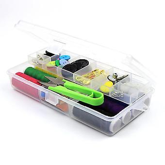 Kannettava ompelusarja Kotitalous Monitoiminen ompelusarja Käsintehty ompelutyökalun säilytyslaatikko