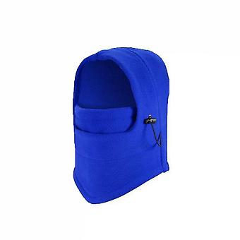 Winter Outdoor Waterproof Warm Soft Hiking Hat Color1(Blue)