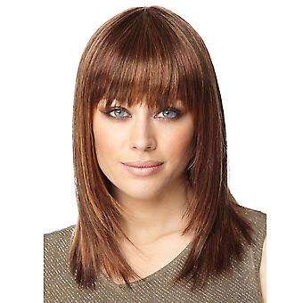 Brand Mall Wigs, Lace Wigs, Realistic Bangs, Short Curly Hair, Straight Hair