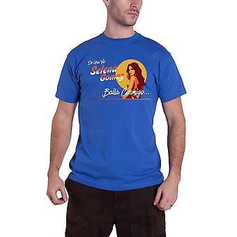 Selena Gomez T Shirt Mural Logo new Official Mens Royal Blue