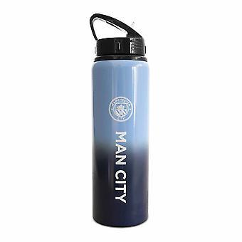 Manchester City FC Fade Alumiini 750ml Urheilupullo