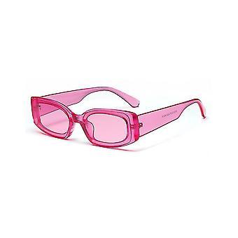 Štvorcové odtiene Cukor Farba Slnečné okuliare Módne okuliare Priehľadné slnečné okuliare
