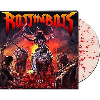 Ross The Boss - By Blood Sworn White/Blood Splatter Vinyl