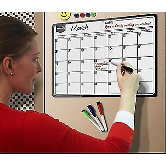 Maandelijks planner magnetische kalender whiteboard voor notities