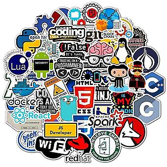 Electronics stickers decals programming/technology stickers for computer/laptop/phone