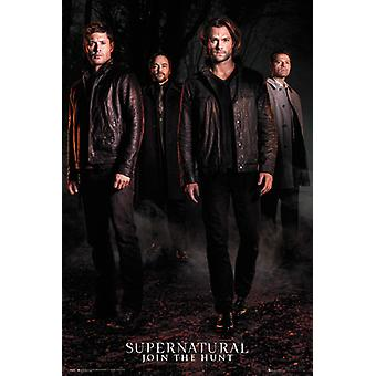 Supernatural temporada 12 tecla arte Maxi Poster