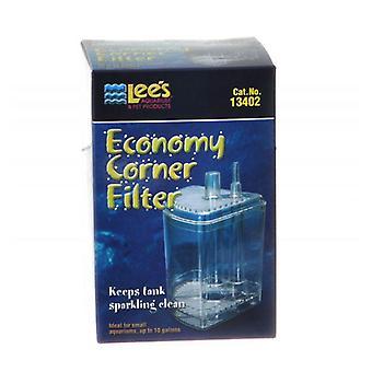 Lees Økonomi Corner Filter - Op til 10 gallon
