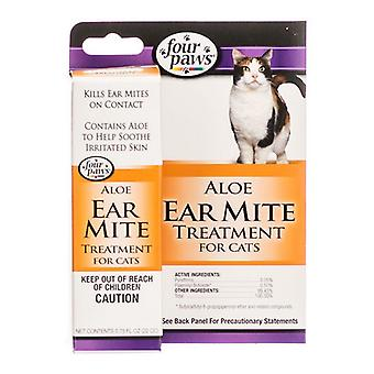 Four Paws Ear Mite Remedy for Cats - .75 oz