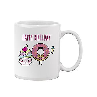 Happy Birthday Desserts Mug -SPIdeals Designs