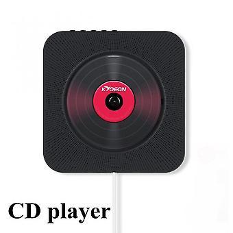 Cd Player Boxe Fm Radio Built-in Hifi USB Mp3 montate pe perete Bluetooth portabil Home Audio Boombox cu telecomandă