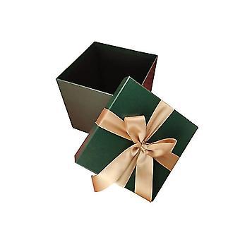 Weihnachtsbox Weihnachtsgeschenk Dekorationsbox (Grün)