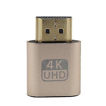 Vga hdmi-compatibele dummy plug virtuele display emulator adapter ddc edid ondersteuning 1920x1080p voor