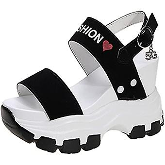 Ladies Thick-soled Summer Open-toed Wear-resistant Casual Sandals