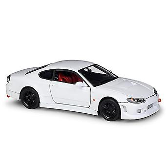 Qian 1: 24 Regularny biały model samochodu Handicraft Decoration Collection Toy Tool Gift Die Casting Model samochodu
