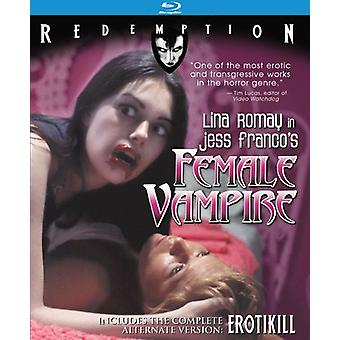 Female Vampire [Blu-ray] USA import