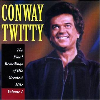 Conway Twitty - Conway Twitty: Vol. 1-Final Recordings of His [CD] USA import
