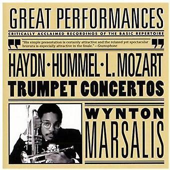 Haydn/Mozart - Haydn, Hummel, L. Mozart: Importazione USA Trumpet Concertos [CD]