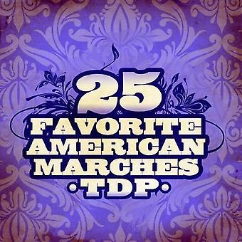 TDP - import 25 Lieblings amerikanische Märsche [Remastered] [CD] USA