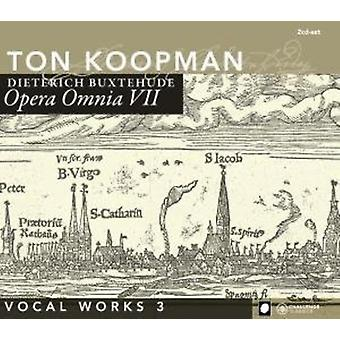 D. Buxtehude - Buxtehude: Opera Omnia VII [CD] USA import