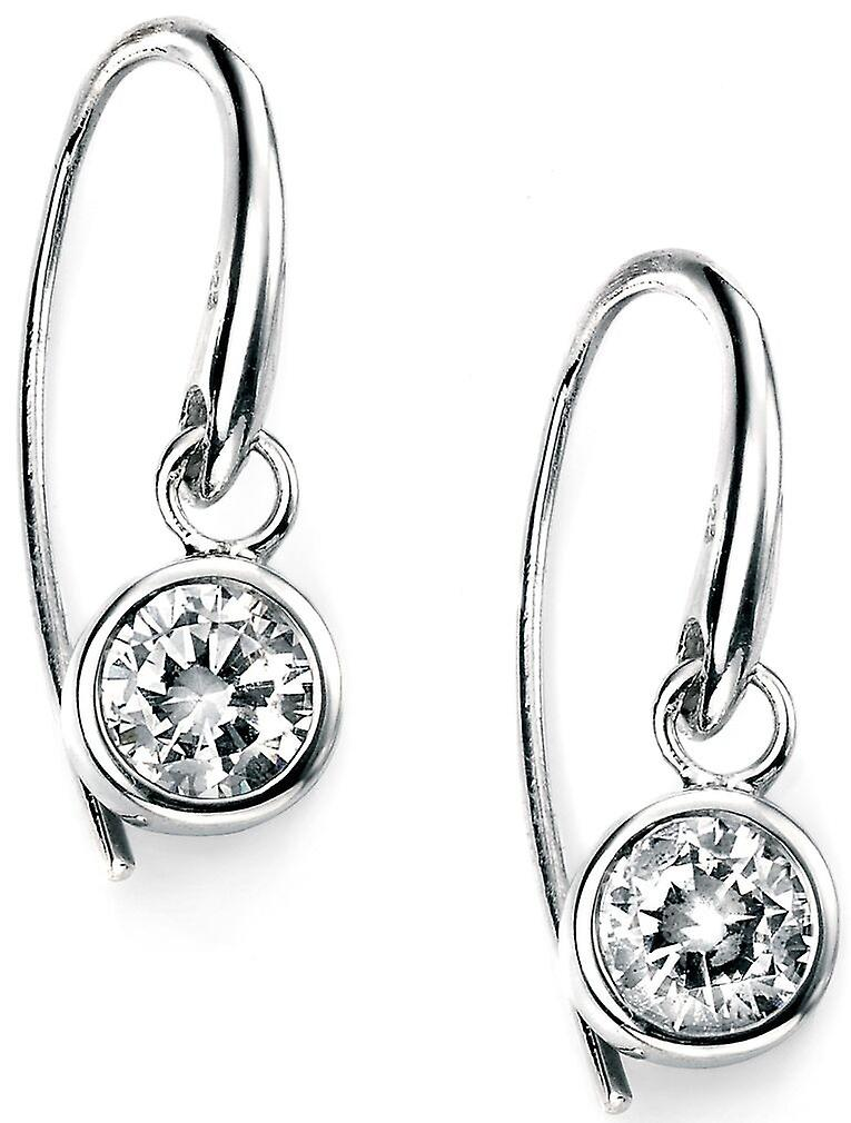 925 Silver Plated Rhodium And Zirconium Earring Trend