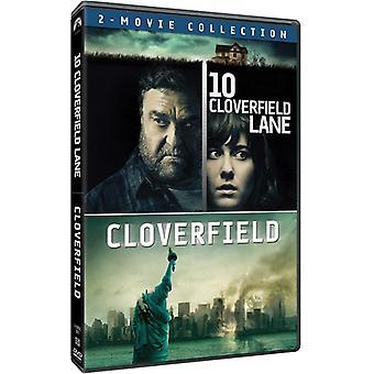 10 Cloverfied Lane / Cloverfield: 2-Movie Coll [DVD] USA import