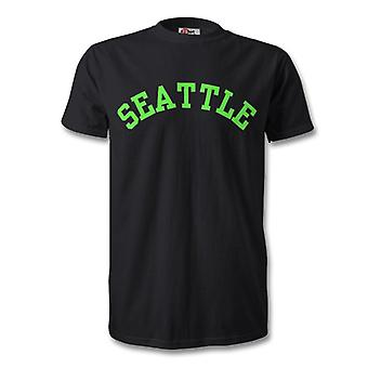 Seattle College Style Kids T-Shirt