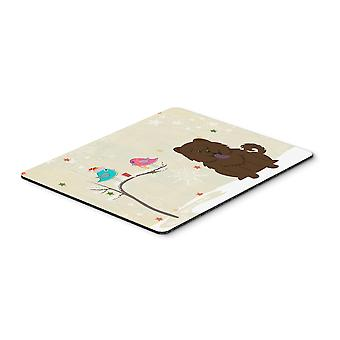 Christmas Presents between Friends Chow Chow Chocolate Mouse Pad, Hot Pad or Tri