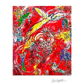 Triumph of Music Poster Print by Marc Chagall (18 x 24)