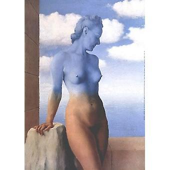 La Magie Noire affisch Skriv av Rene Magritte (20 x 28)