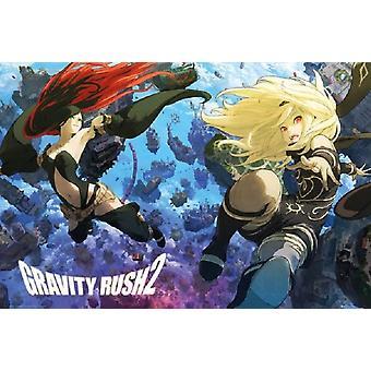 Gravity Rush 2 gravité hébété 2 affiche Poster Print