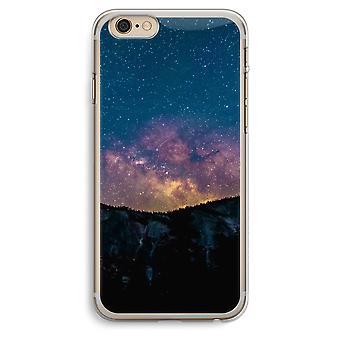 iPhone 6 Plus / 6S Plus caja transparente (suave) - viaje al espacio
