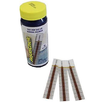 Aquachek 561141 Swimming Pool Spa White Salt Test Strips Sodium Chloride