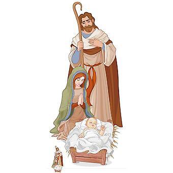 Nativity Scene Lifesize Cardboard Cutout / Standee / Standup / Standee