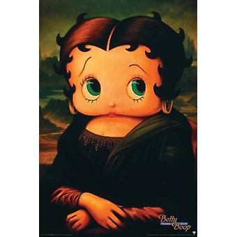 Betty Boop - Mona Lisa Poster Poster Print