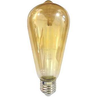 LightMe LED (monochrome) EEC A+ (A++ - E) E27 Bulged 4 W = 30 W Warm white (Ø x L) 64 mm x 145 mm Filament 1 pc(s)