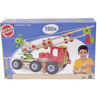 Kit Heros Constructor No. of parts: 190 No. of models: 7 Age category: 6 years and over