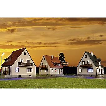 Kibri 38995 H0 Set van 3 KOLONIE huizen