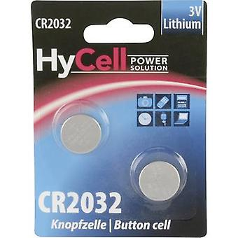 HyCell CR 2032 Button cell CR2032 Lithium 200 mAh 3 V 2 pc(s)