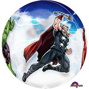 Anagram Avengers Supershape Orbz Balon