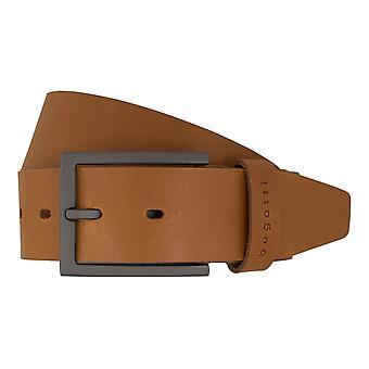 Bugatti belts men's belts leather belt Cognac 7376
