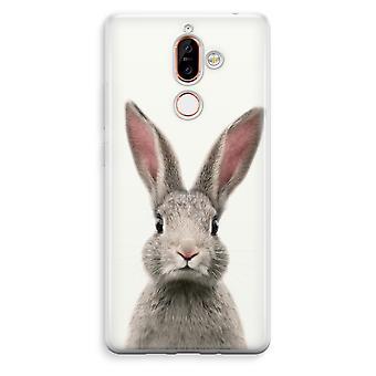 Nokia 7 Plus boîtier Transparent (doux) - Daisy
