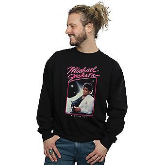 Michael Jackson Men's King Of Pop Photo Sweatshirt