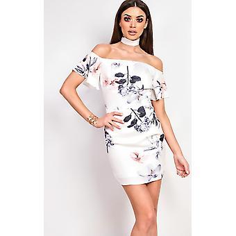 فستان الأزهار النسائية ألما إيكروش