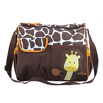 TRIXES giraf Baby veranderende Bag waaronder Mat en helder accessoire zak wijzigen