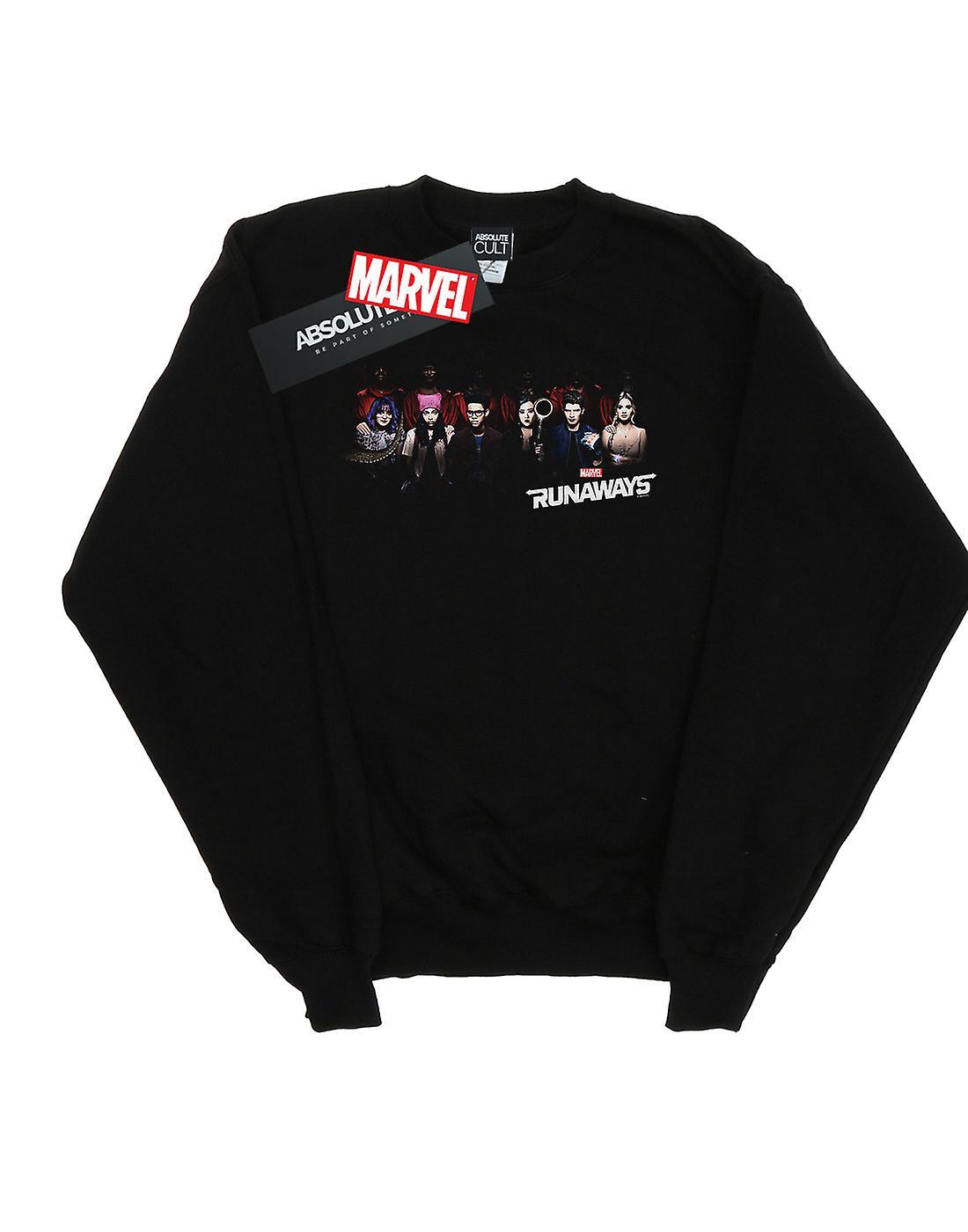 Marvel Women's Runaways Lineup Sweatshirt